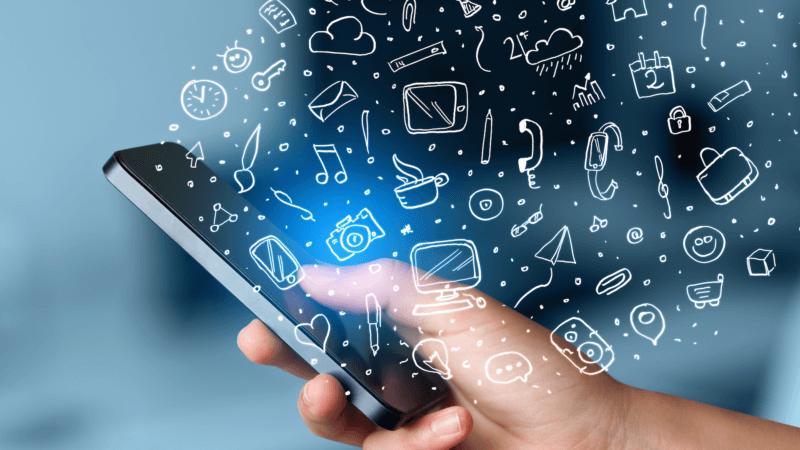 mobile app wallpaper